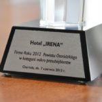 firma roku 2012 powiatu ostródzkiego w kategorii mikro przedsiębiorstw