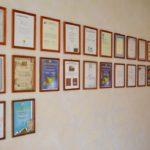 dyplomy dla hotelu irena