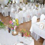 ozdobione stoły hotel irena