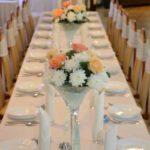 zastawione stoły w hotelu irena