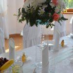 bukiet weselny w hotelu irena